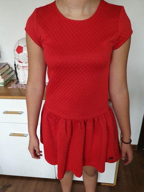 Ładna sukienka na święta dla dziewczynki 164 cm!