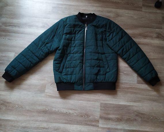 Женская демисезонная куртка курточка бомбер 48-50