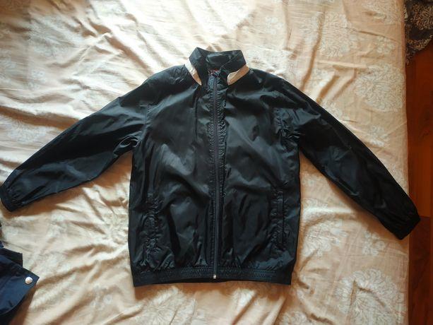 Фирменная куртка, ветровка Puma на мальчика,рост 152,замеры, как новая