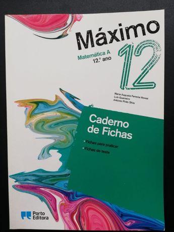 Caderno de Atividades - Maximo - 12º Ano