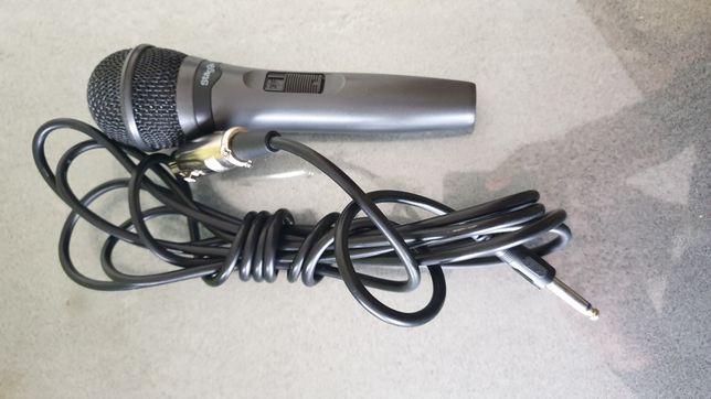 Microfone Stagg novo com cabo