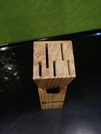 Подставка для ножей дерево