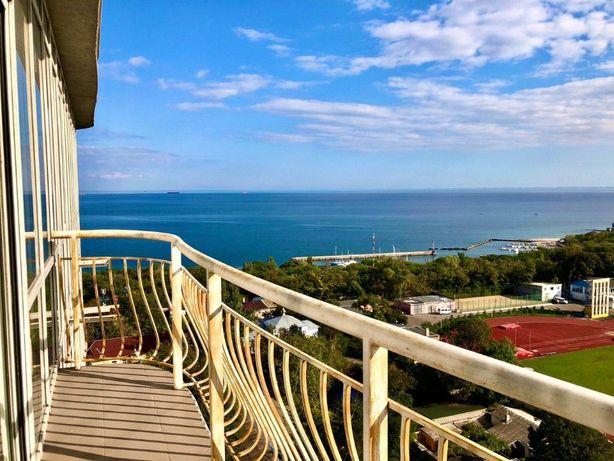 Пентхаус с террасой и панорамой моря. Французский бульвар shev-01