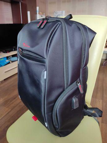 Продам отличный рюкзак Новый/ водо-отталкивающий с отражателем