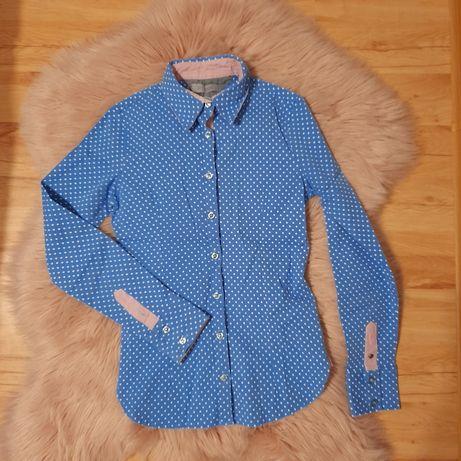 Koszula rubin s niebieska