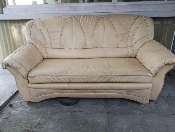 Sofa skórzana oddam za darmo