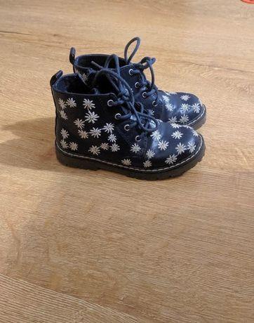 Ботинки Zara демисезонные, черевики Зара дитячі, черевички демісезонні