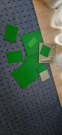 Płyty konstrukcyjne LEGO różne rozmiary różne kolory 10 sztuk