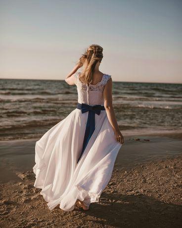 Suknia / sukienka ślubna rozmiar 38