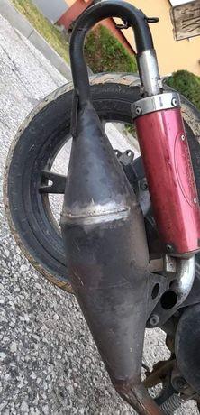 Sportowy wydech skuter 2 t