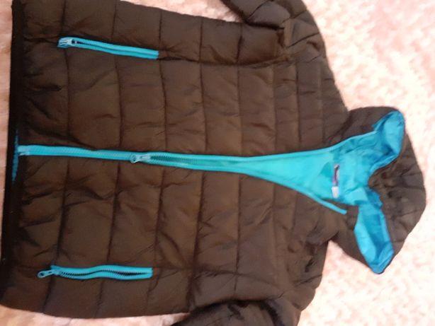 Sprzedam kurtkę czarno niebiesko