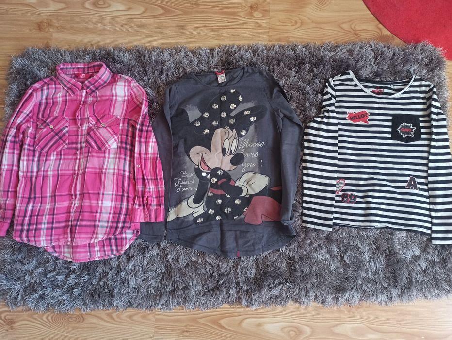 Bluzki koszulki koszula r.134 Ząbkowice Śląskie - image 1
