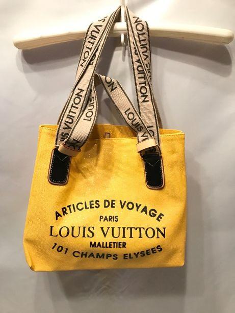 Louis Vuitton Tobra torebka A4 żółta