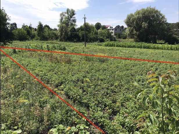 Продам земельну ділянку у м. Дунаівці «Берізка»