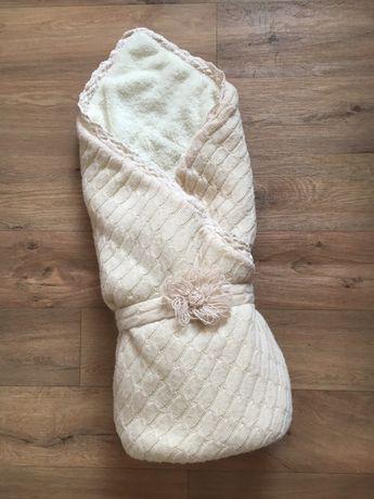 Конверт-одеяло на выписку, одеяльце в коляску
