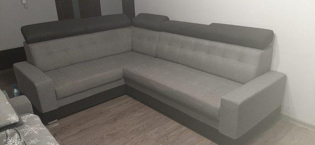 Narożnik wraz z sofą stan b.dobry