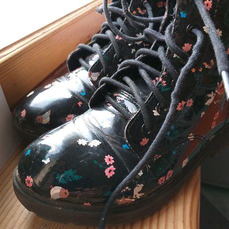 Продам прикольные ботинки на девочку 33р. H&M