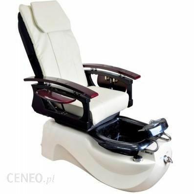 Fotel pedicure ts-1204 z masażem, misa, pilotem stan bdb