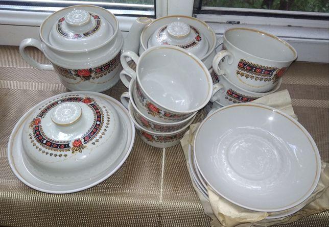 Сервиз чайный на 6 персон из 15 предметов