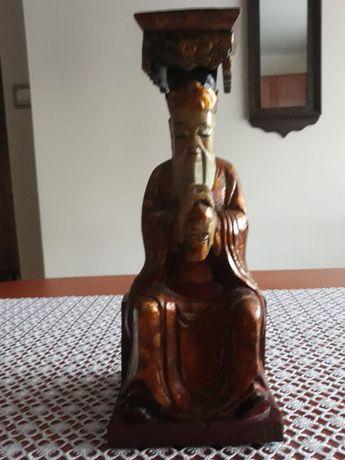 Figurka drewniana