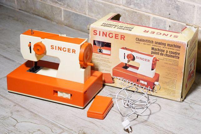 швейная машинка SINGER детская игрушка Югославия