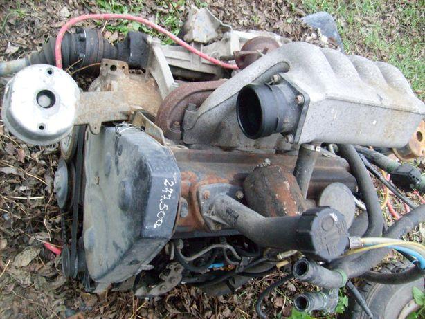 silnik kompletny,skrzynia biegów transporter t4 1,9d