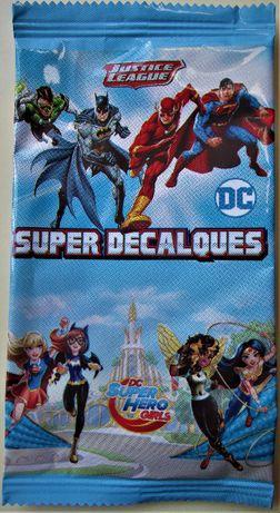 Saquetas Super Decalques Justice League