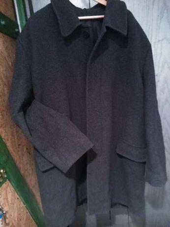 Płaszcz męski ,rozmiar 56, XXL (180-185cm ) ciemny grafit–stan idealny