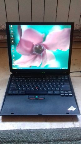 Ноутбук IBM TinkPad R31 в рабочем хорошем состоянии