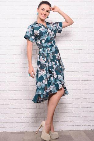 Летнее платье на запах