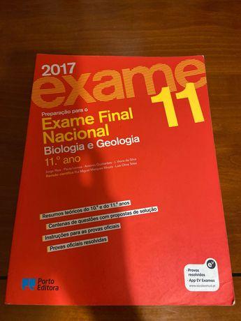 Livro de preparação para o exame de biologia e geologia