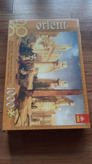 Puzzle Trefl Orient - Świątynia Karnak w Luxorze - 1000 elementów