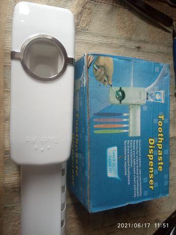 Дозатор для зубной пасты органайзер для зубных щёток toothpaste dispen