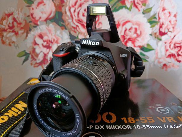 Nikon D3500 + AF-P 18-55VR kit