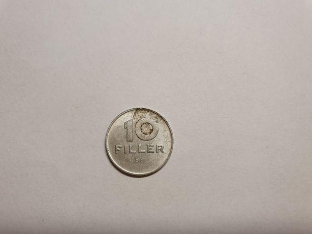 Moneta 10 fillerów - Węgry 1989