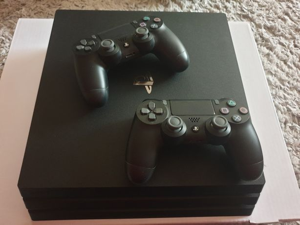 Okazja PlayStation 4pro 1tb 2xpad hdr orginal ideal komplet pudełko