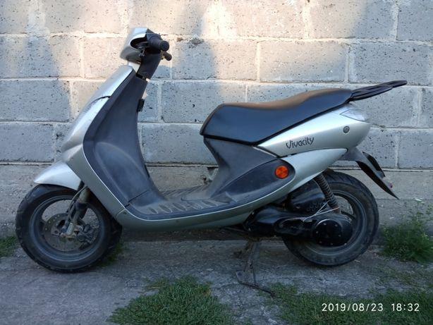 Peugeot vivacity 2004 rok rama czesci dokumety Zipp pro