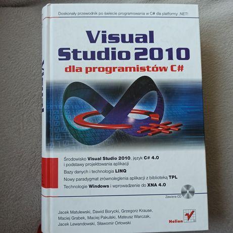 Książka visual studio 2010 dla programistow c# z płytą