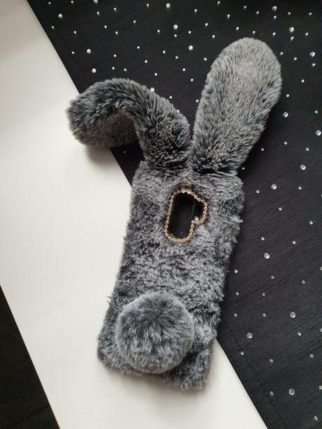 Case królik futerko Samsung Galaxy S9+