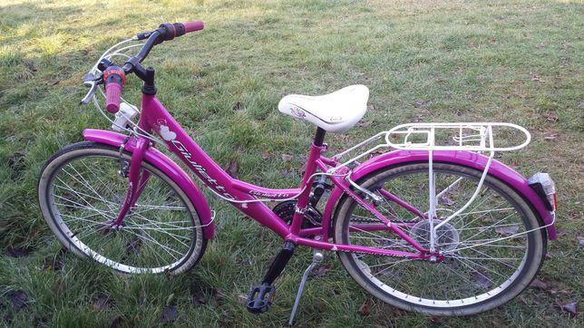 Rower dziewczęcy 24 cali.