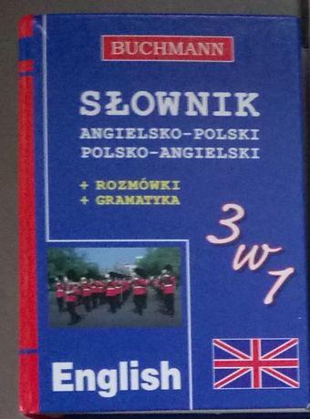 Słownik polsko-angielski Buchman 3w1