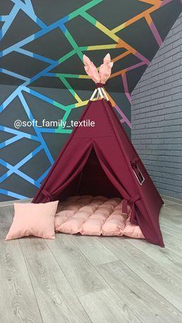Вігвам, вигвам, детская палатка, детский домик, типи, шалаш
