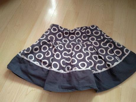 Spódnica z podszewką 98 cm