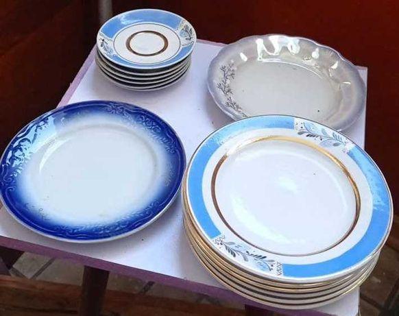 Наборы посуды -  стопки, тарелки, чашки