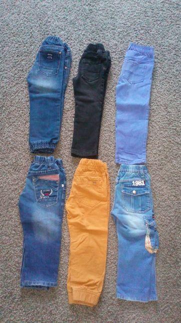 Paka spodni dla chłopca, 6 par, rozmiar 98 i 104