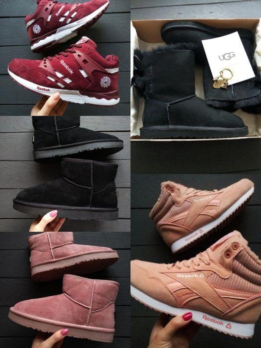 Распродажа остатков женские зимних кроссовок UGG,Reebok, Fila, Asics Нежин - изображение 1