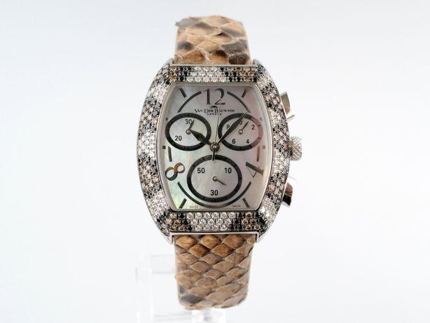 Женские новые часы Van Der Bauwede C65 Magnum XS Chrono Snake 33 х 43
