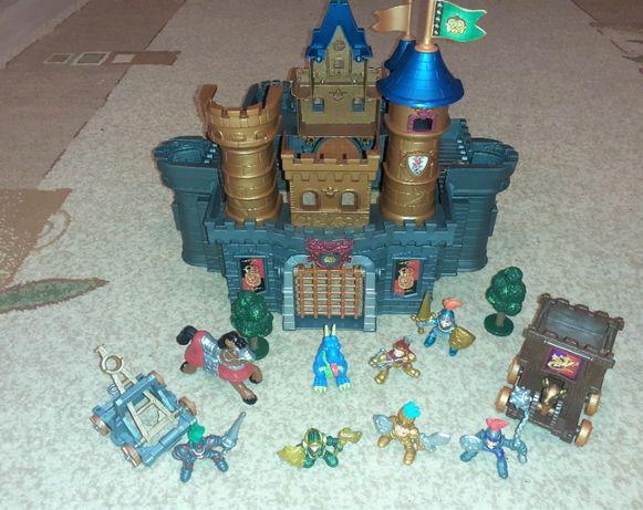 Zamek Średniowieczny Rycerze wojsko figurki fort