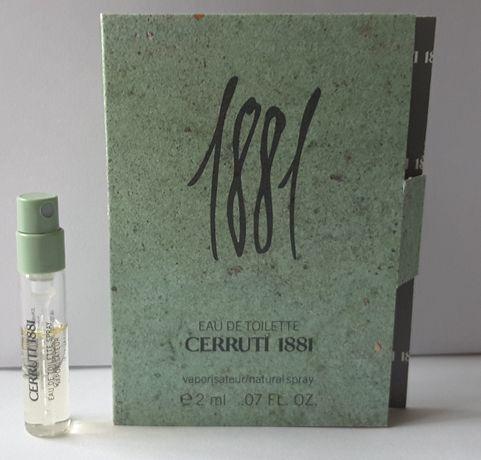 Пробник туалетной воды 2,0 ml, Cerruti 1881 pure homme,