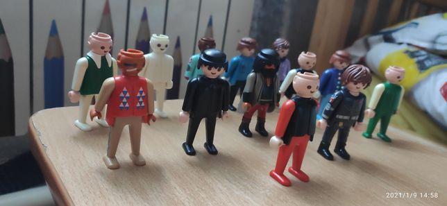 Фигурки игрушки оригинал geobra человечки lego